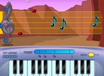 Shooting-game-of-musical-notes-with-a-piano-and-a-treble-clef