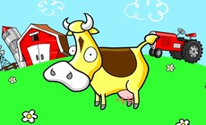 Animation-with-a-cow