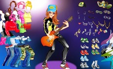 Dress-up-game-with-a-guitar