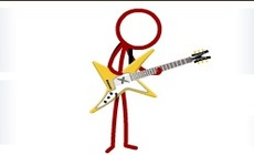 Play-guitar-with-bonhomme-red-and-black-2