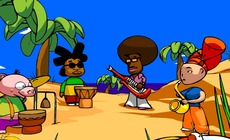 Play-music-with-a-reggae-band