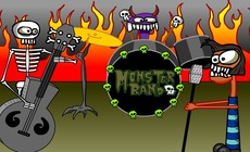 Play-music-with-a-rock-band-monster