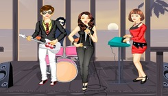 Dress-up-game-with-a-rock-band