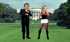 Play-britney-spears-dance-eta-george-bush-ekin-white-house-at