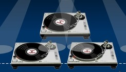 Insamhladh-cluiche-le-turntables-dj
