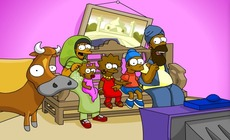 The-simpsons-w-indiach-singhsons