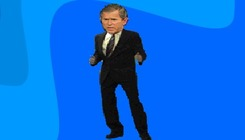 Dance-com-george-bush